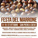 Sagre e Feste – Il marrone protagonista dell'ottobre di San Piero a Sieve