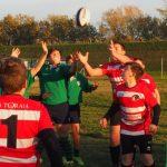 Rugby – Gli under 14 del Mugello/Sieci corsari a Pontedera