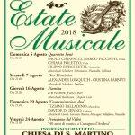 Castagno d'Andrea – Quarantesima edizione per l'Estate Musicale. Il programma